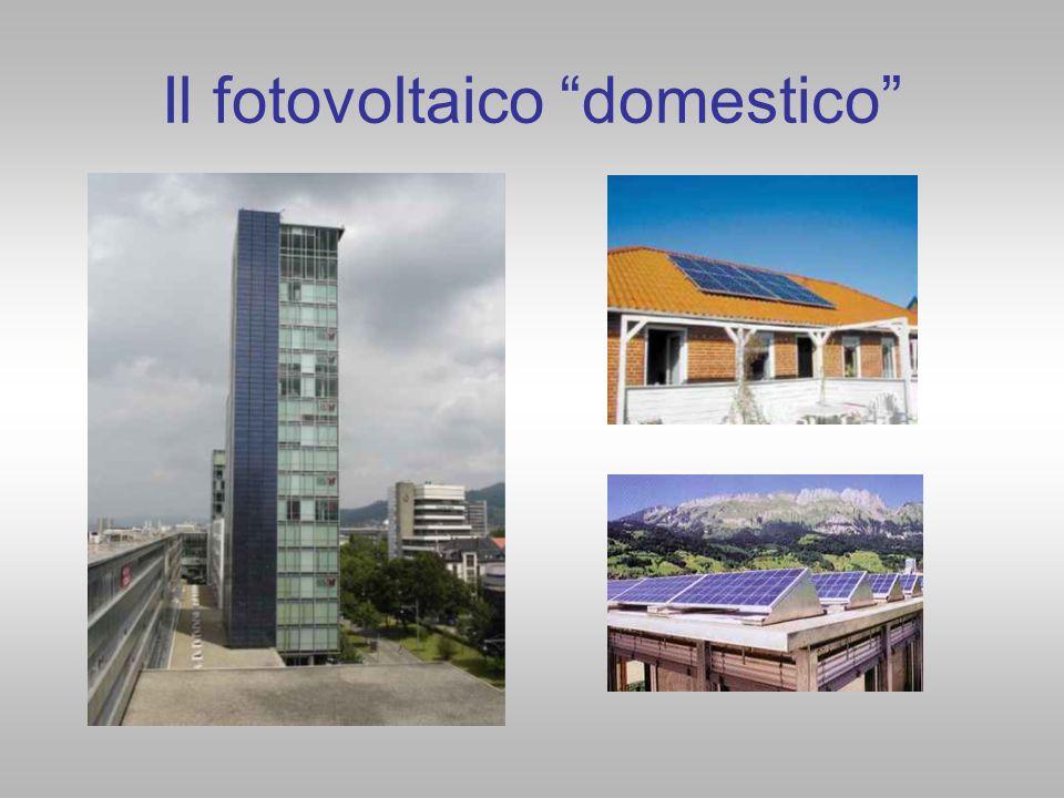 Il fotovoltaico domestico