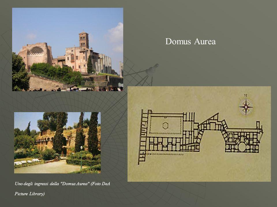 Domus Aurea Uno degli ingressi della Domus Aurea (Foto DeA Picture Library)