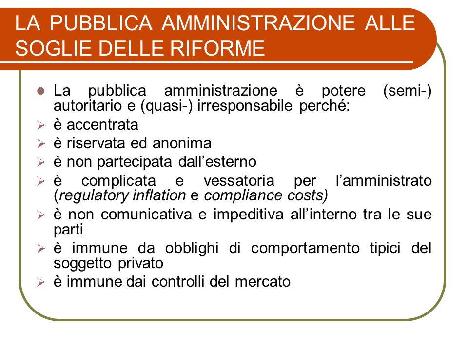 PUBLIC-PRIVATE PARTNERSHIP A) Contracting out per servizi strumentali alle attività istituzionali della p.a.