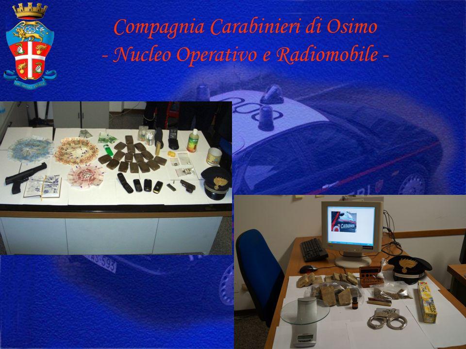 Compagnia Carabinieri di Osimo - Nucleo Operativo e Radiomobile -