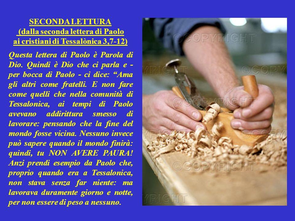 SALMO RESPONSORIALE (Salmo 97,5-9) Questo salmo è Parola di Dio. Quindi è Dio che ci parla e ci dice: Io sono il Signore: e giudico il mondo con giust