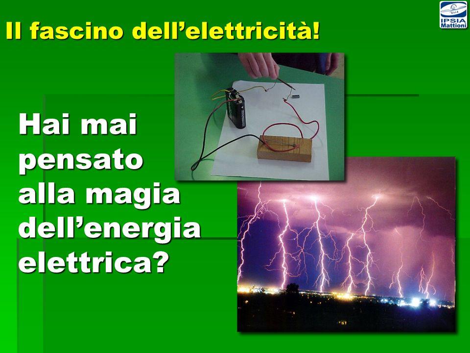Il fascino dellelettricità! Hai mai pensato alla magia dellenergia elettrica?