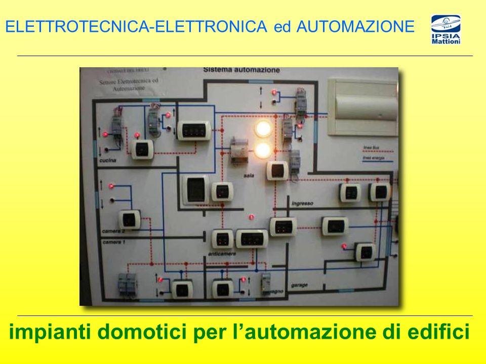 impianti domotici per lautomazione di edifici ELETTROTECNICA-ELETTRONICA ed AUTOMAZIONE