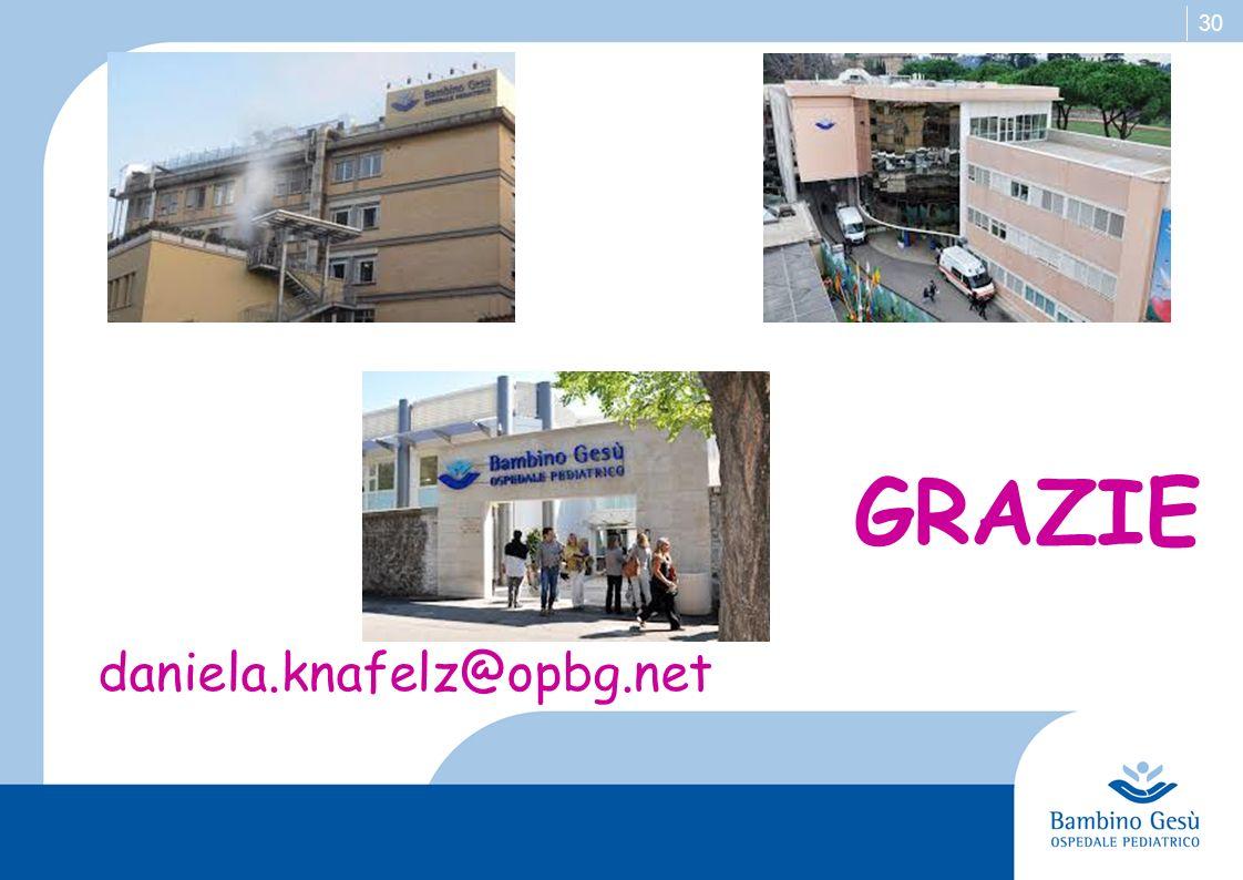 30 daniela.knafelz@opbg.net GRAZIE