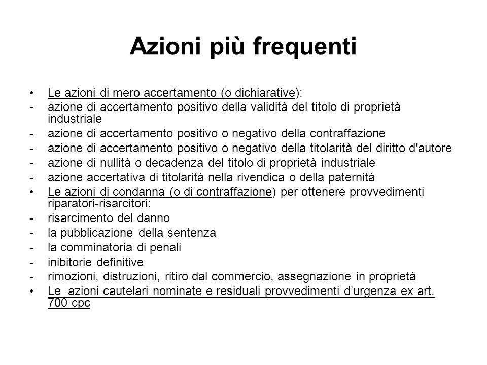 Descrizione e sequestro (D.lgs 131/2010) Art.