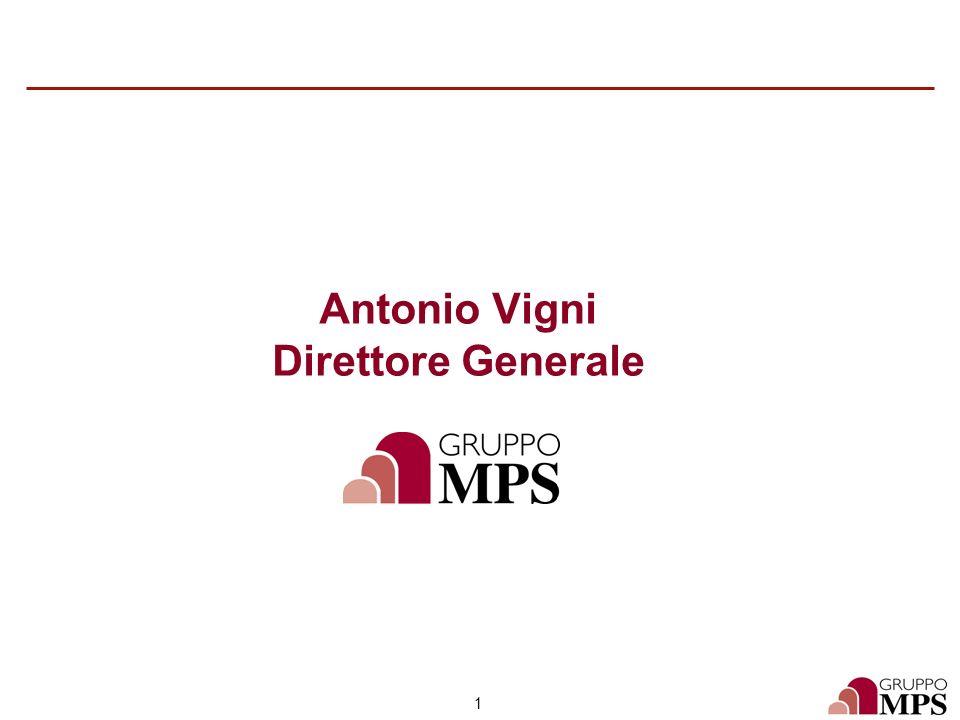 1 Antonio Vigni Direttore Generale