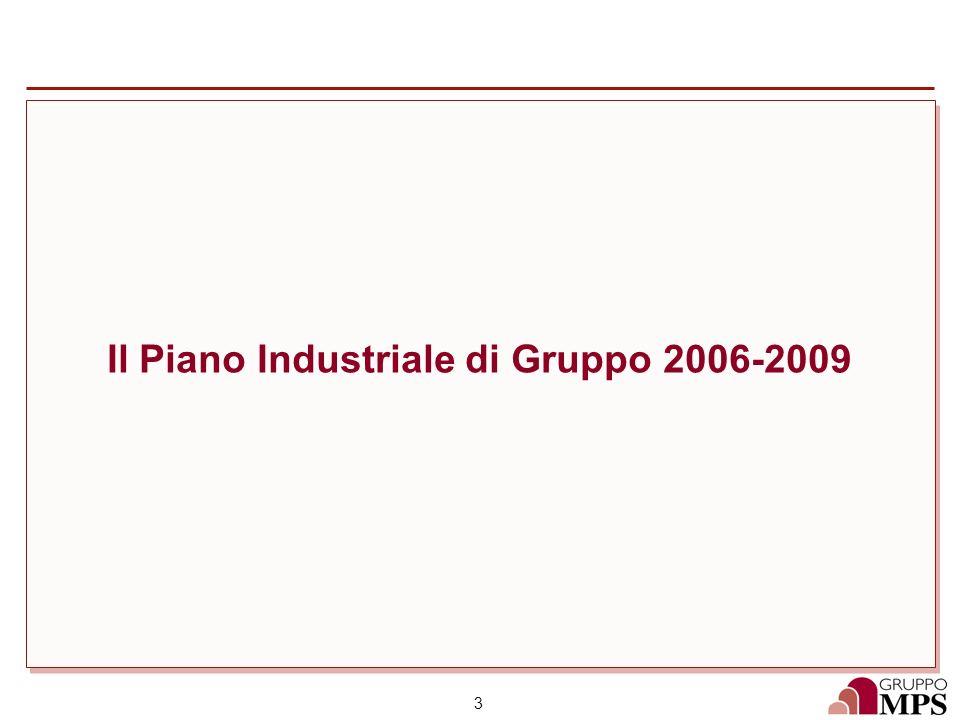3 Il Piano Industriale di Gruppo 2006-2009