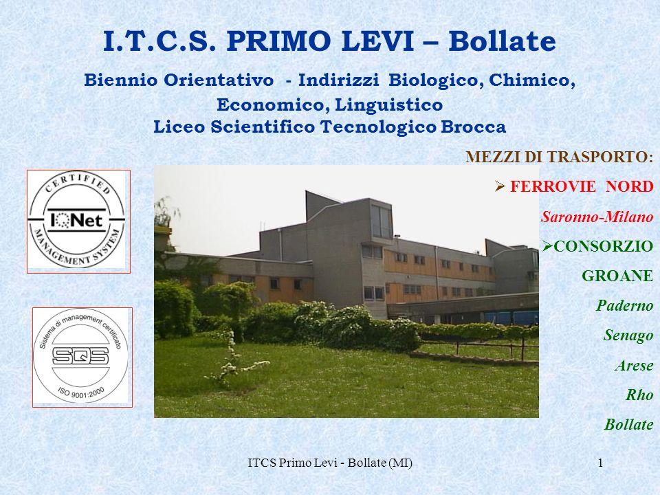ITCS Primo Levi - Bollate (MI)22 turismo viaggi relazioni internazionali UNIVERSITA Indirizzo Linguistico: sbocchi