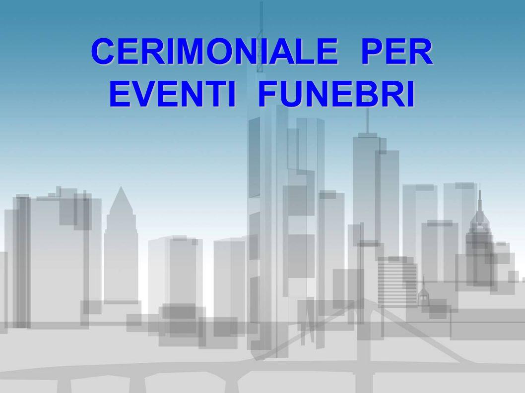 Tutti devono sentire il dovere di recarsi dove è esposta la salma del defunto amico Lions, e partecipare alla cerimonia funebre.
