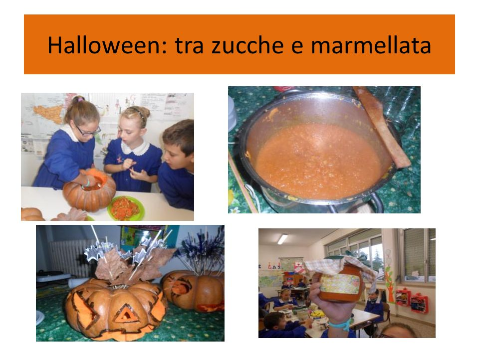 Halloween: tra zucche e marmellata