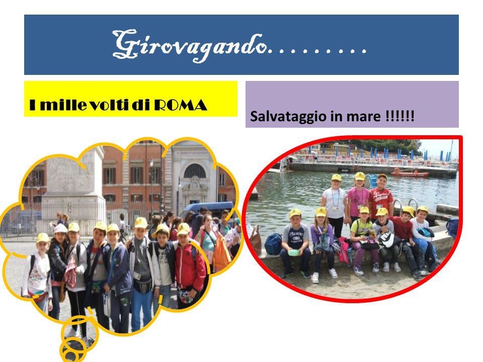 Girovagando……… I mille volti di ROMA Salvataggio in mare !!!!!!