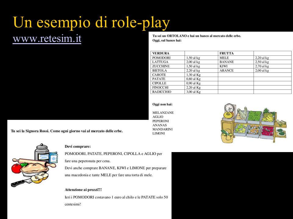 Un esempio di role-play www.retesim.it www.retesim.it