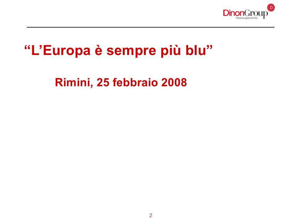 2 LEuropa è sempre più blu Rimini, 25 febbraio 2008