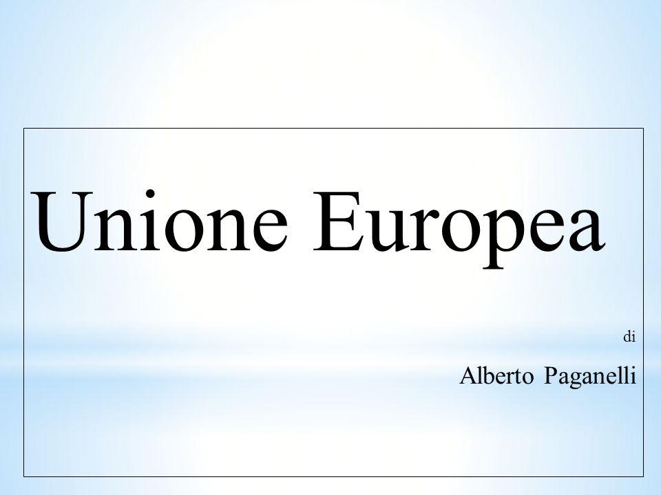 Unione Europea di Alberto Paganelli