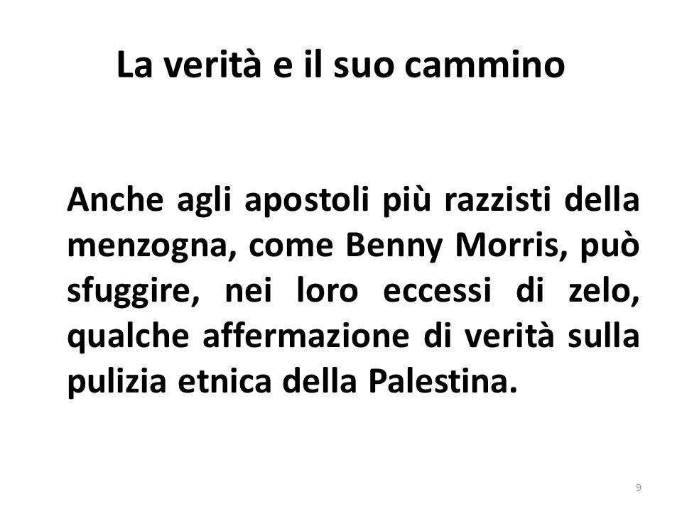 La verità e il suo cammino Quando si dice che nella Striscia di Gaza è in corso un genocidio molti si mostrano stupiti.