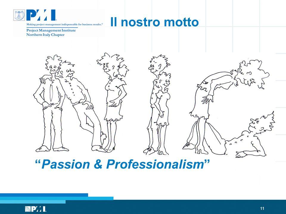 11 Il nostro motto Passion & Professionalism