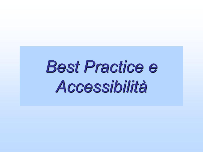 Best Practice e Accessibilità