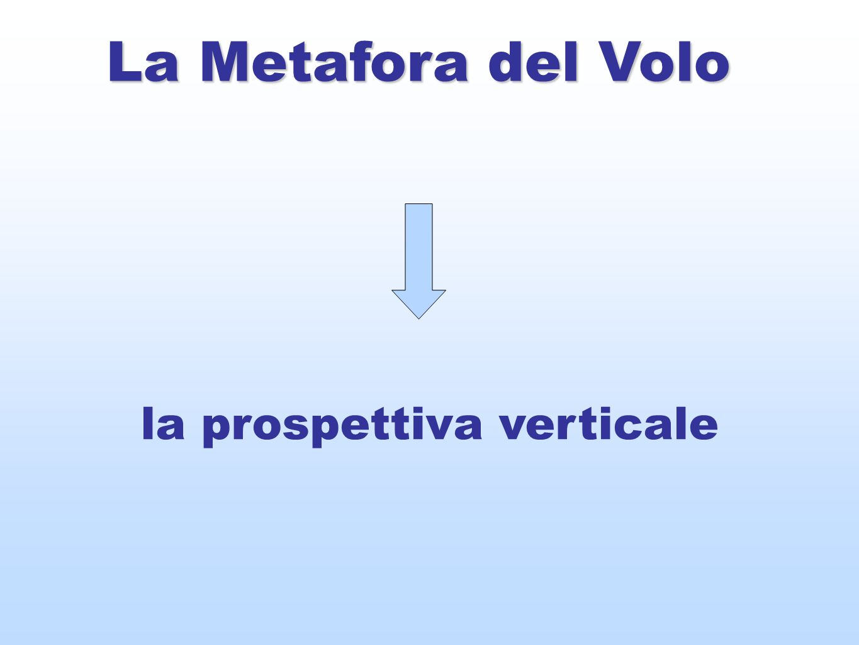 La Metafora del Volo la prospettiva verticale