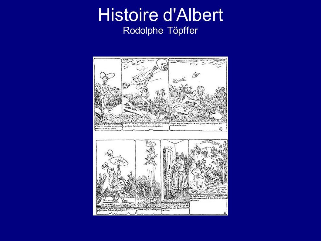 Histoire d'Albert Rodolphe Töpffer