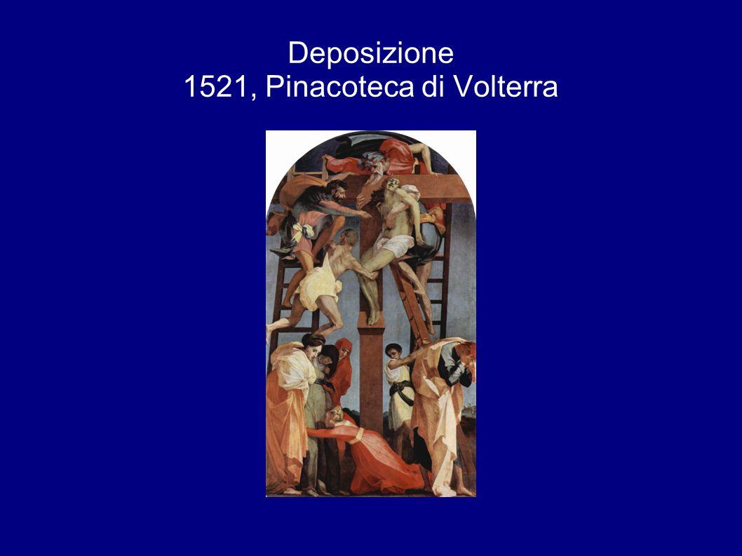 Deposizione 1521, Pinacoteca di Volterra