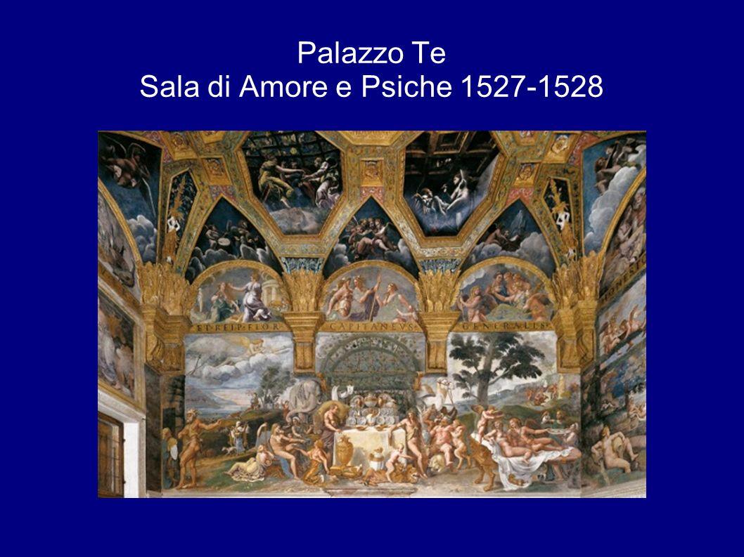Palazzo Te Sala di Amore e Psiche 1527-1528