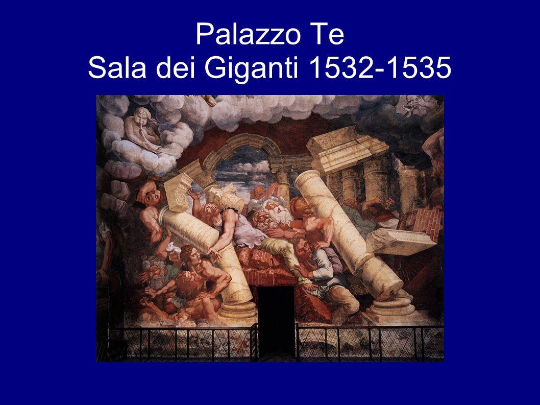 Palazzo Te Sala dei Giganti 1532-1535