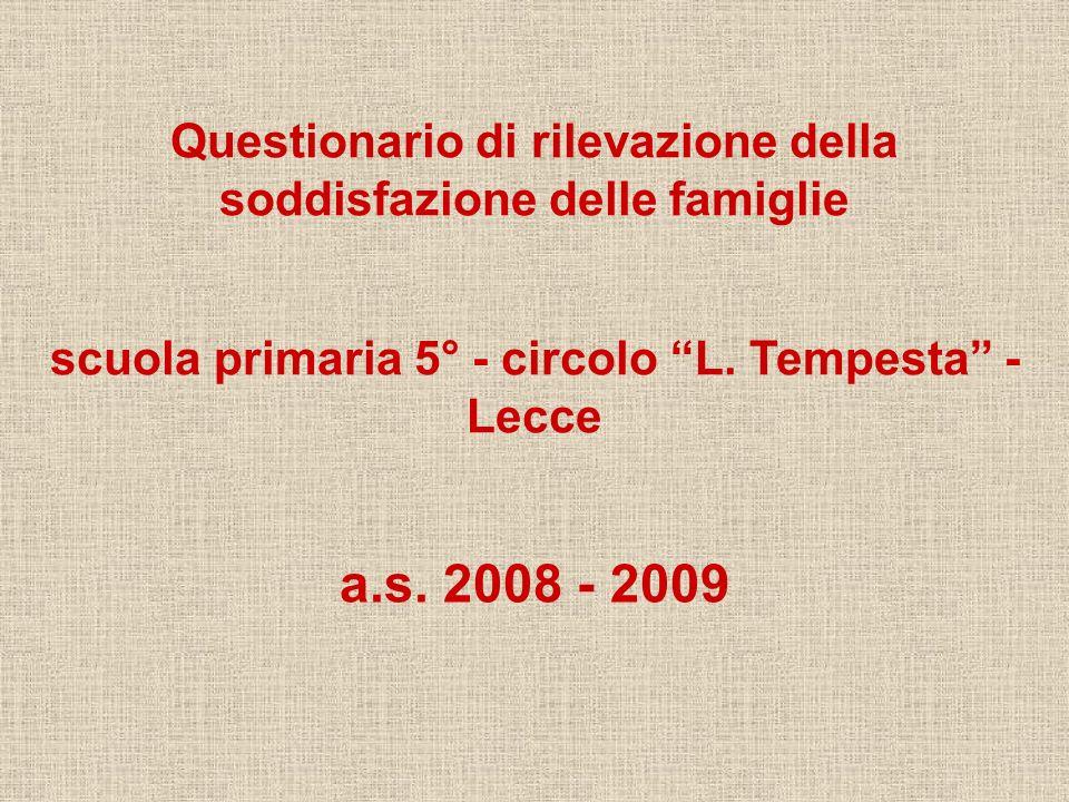 a.s. 2008 - 2009 scuola primaria 5° - circolo L.
