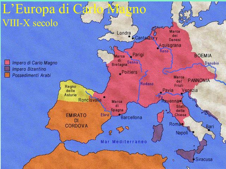 LEuropa di Carlo Magno VIII-X secolo