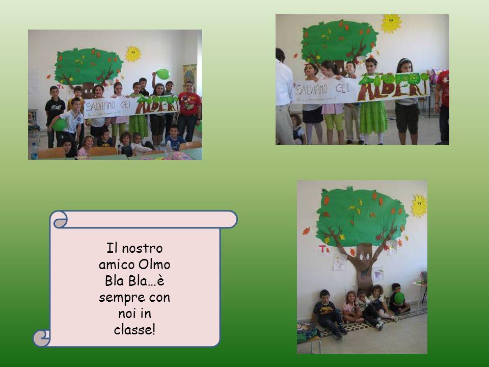 Il nostro amico Olmo Bla Bla…è sempre con noi in classe!
