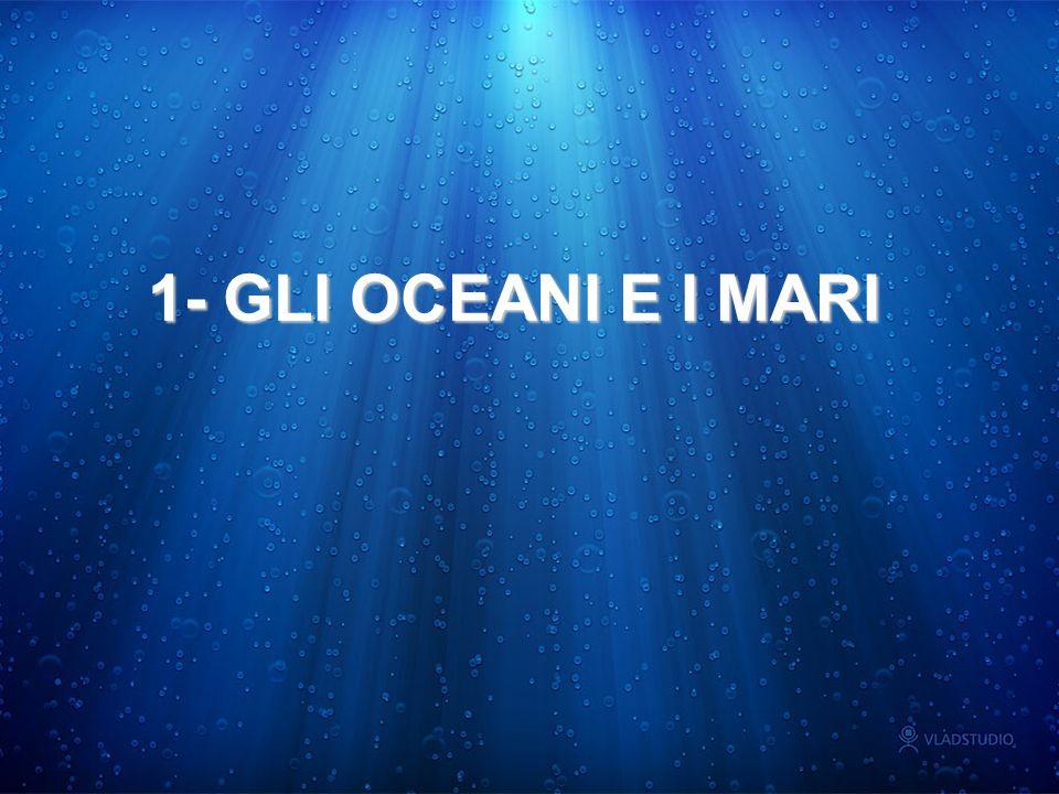 OCEANI: GRANDI SERBATOI D ACQUA ciclo dell acqua sulla terra: l evaporazionel evaporazione vapore acqueovapore acqueo precipitazioni.precipitazioni.