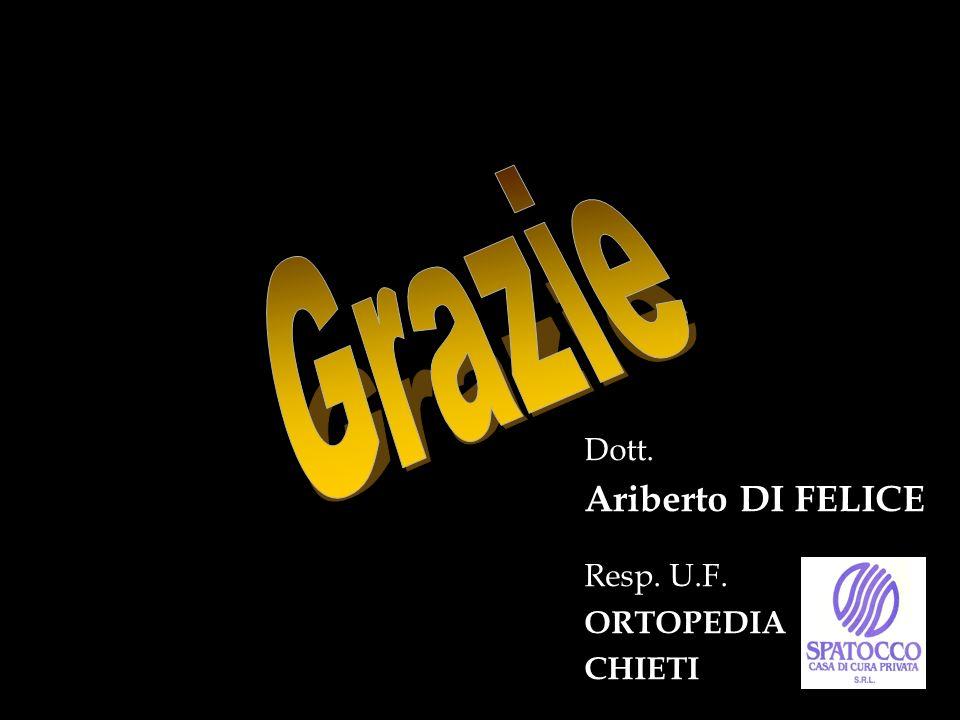 Dott. Ariberto DI FELICE Resp. U.F. ORTOPEDIA CHIETI
