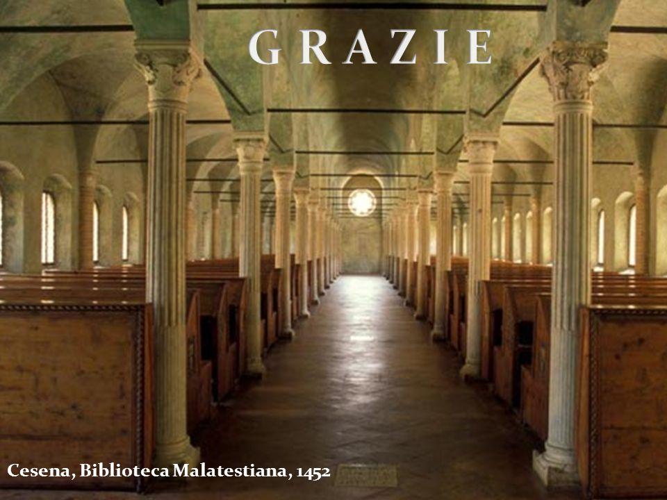 Cesena, Biblioteca Malatestiana, 1452