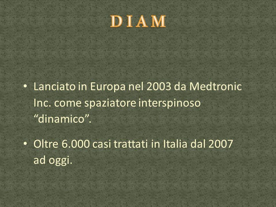 Lanciato in Europa nel 2003 da Medtronic Inc. come spaziatore interspinoso dinamico. Oltre 6.000 casi trattati in Italia dal 2007 ad oggi.