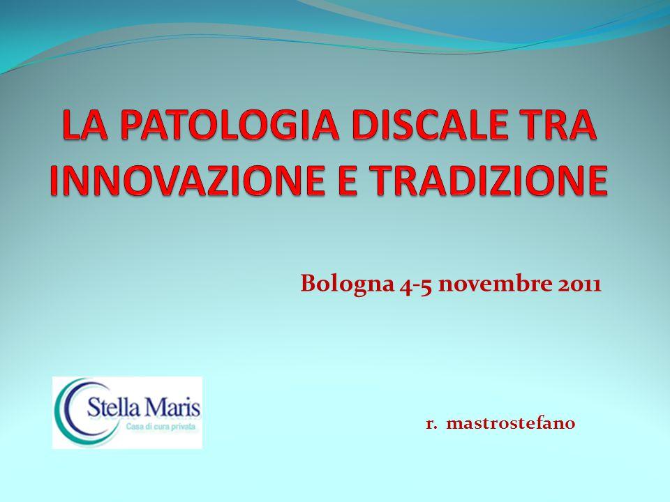 Bologna 4-5 novembre 2011 r. mastrostefano