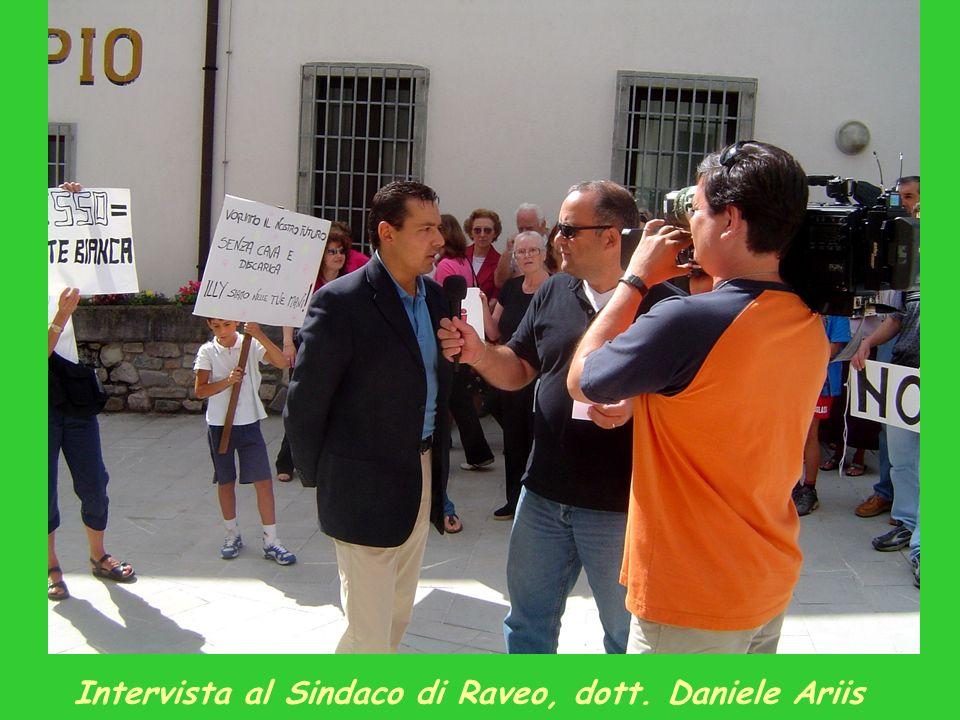 Intervista al Sindaco di Raveo, dott. Daniele Ariis