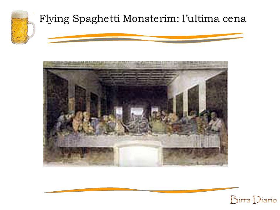 Flying Spaghetti Monsterim: la creazione di Adamo