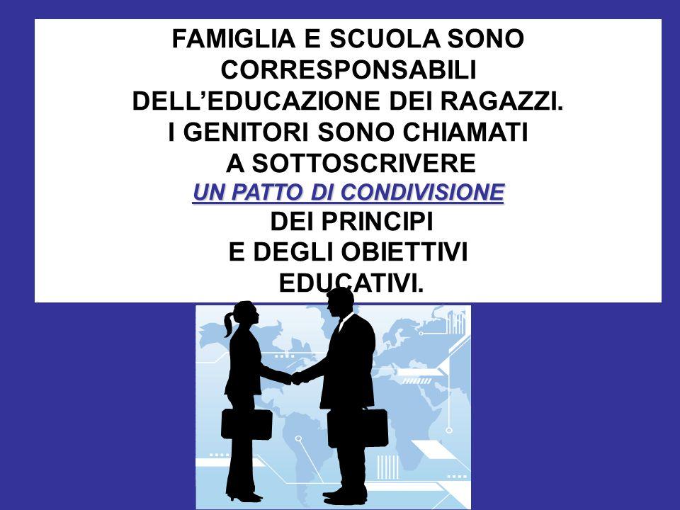 Mario Fraccaro-gambara 2011 FAMIGLIA E SCUOLA SONO CORRESPONSABILI DELLEDUCAZIONE DEI RAGAZZI. I GENITORI SONO CHIAMATI A SOTTOSCRIVERE UN PATTO DI CO