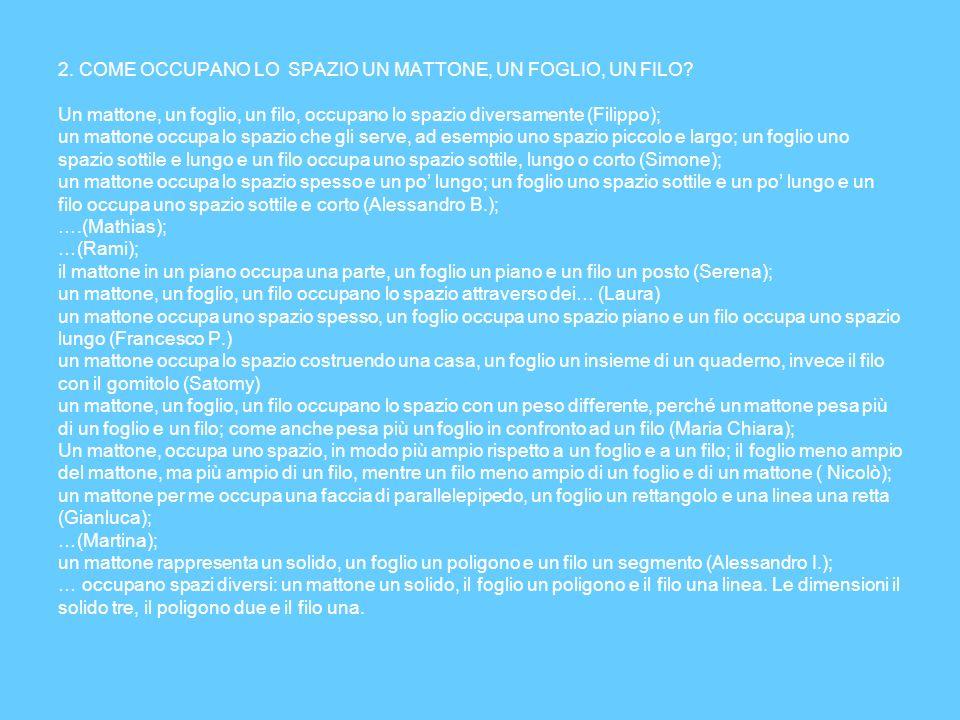 Attività per consolidare i concetti di CONGRUENZA, EQUIESTENSIONE, ISOPERIMETRIA.