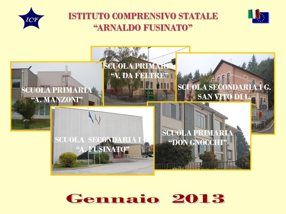 ISTITUTO COMPRENSIVO STATALE ARNALDO FUSINATO SCUOLA PRIMARIA V.