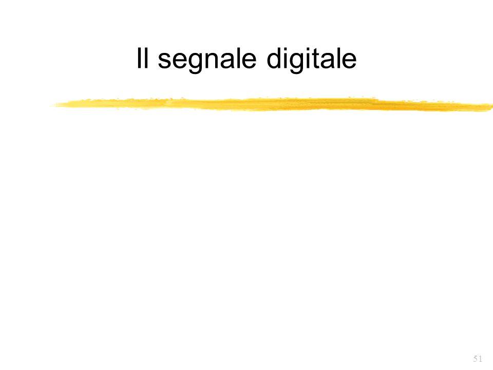 51 Il segnale digitale
