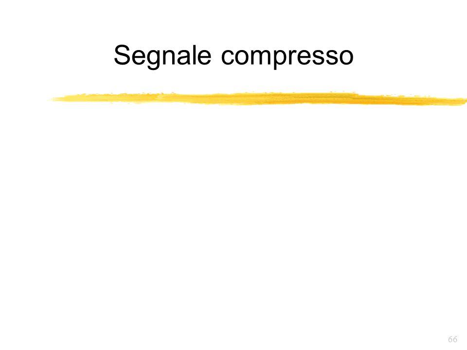 66 Segnale compresso