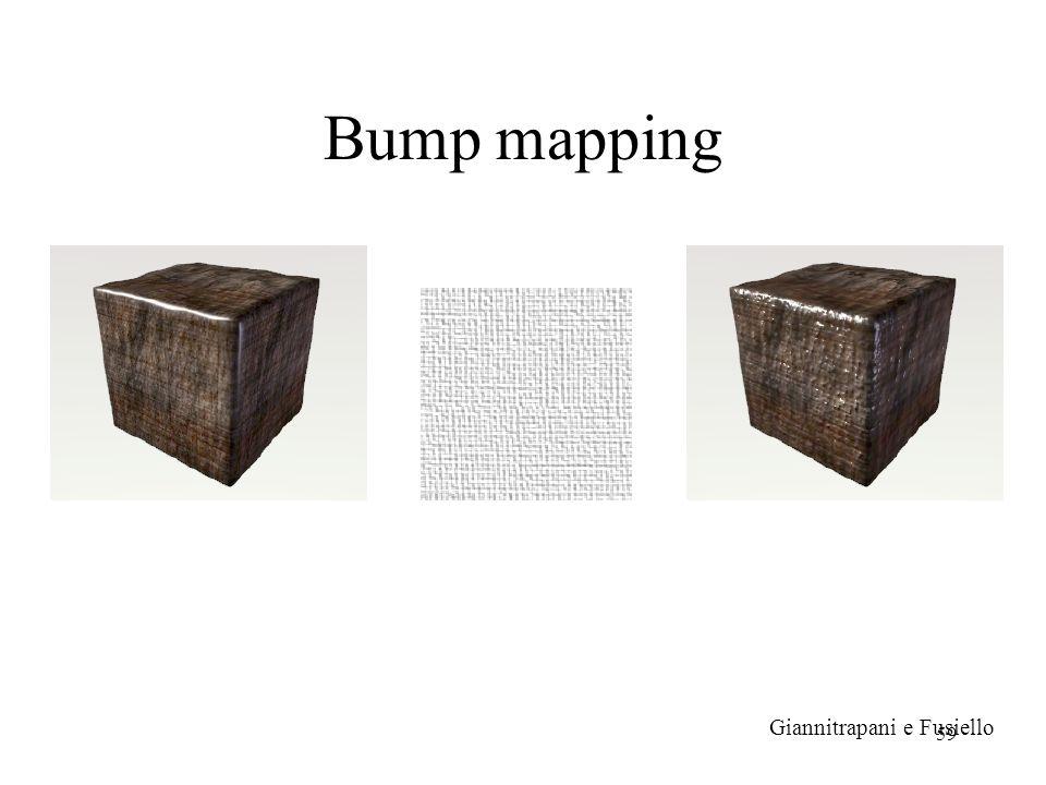 59 Bump mapping Giannitrapani e Fusiello