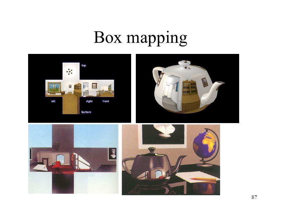 87 Box mapping