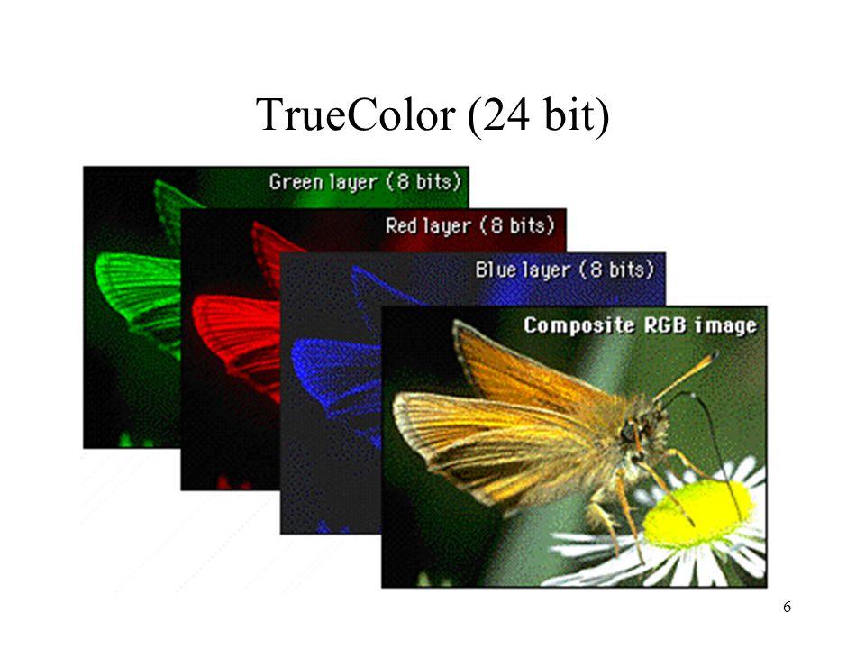 16 Da XYZ a RGB e viceversa Trasformazione lineare: I coefficienti di M si ricavano dalle coordinate di cromaticità dei fosfori; nellesempio un monitor standard.