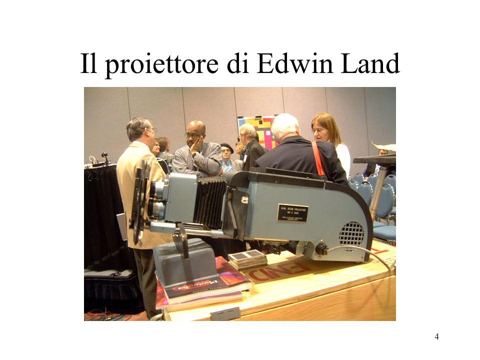 4 Il proiettore di Edwin Land