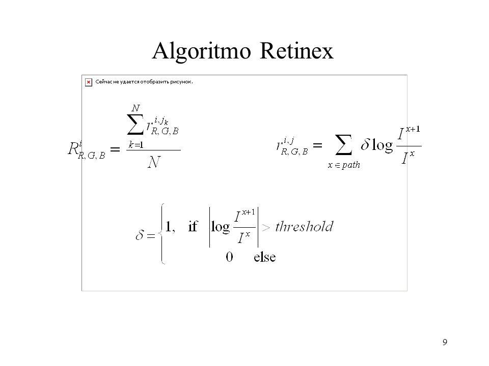 9 Algoritmo Retinex