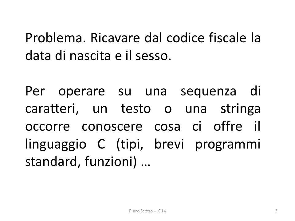 Piero Scotto - C144