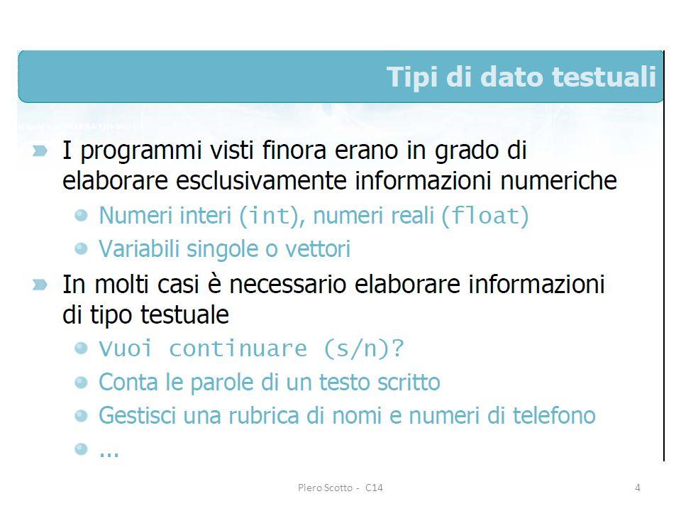 Piero Scotto - C1425