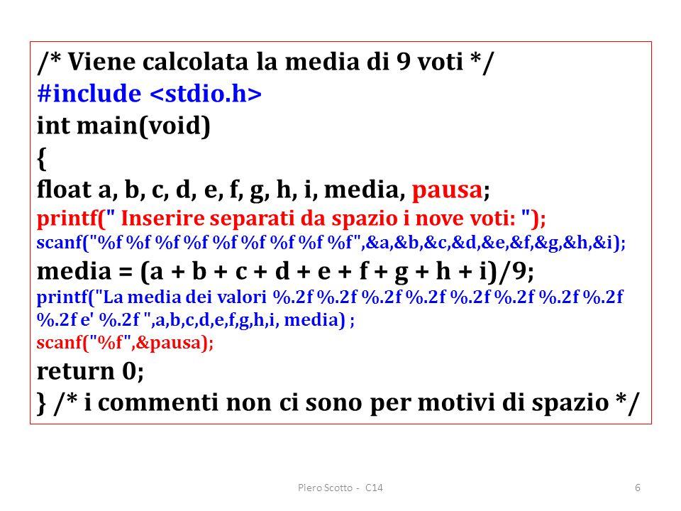 Piero Scotto - C147