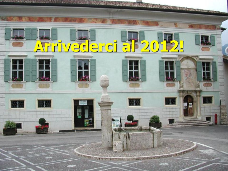 Arrivederci al 2012!